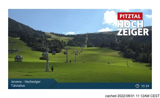 Live Snow webcam for Jerzens