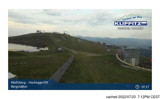 Live Snow webcam for Klippitztörl