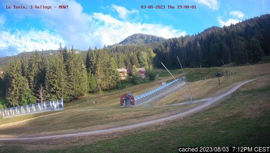 Live Sneeuw Webcam voor La Tania