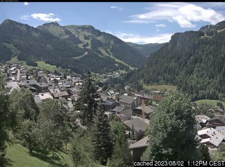 Live Sneeuw Webcam voor La Chapelle d'Abondance