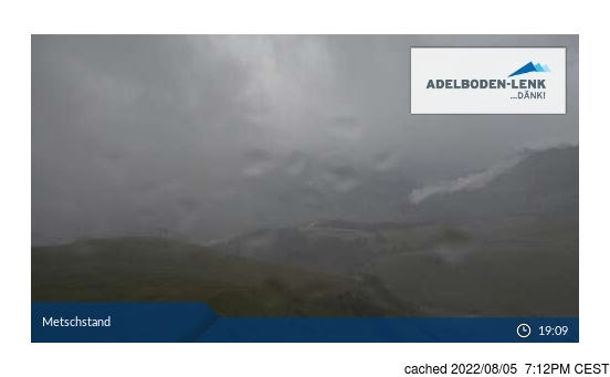 Live webcam per Lenk se disponibile