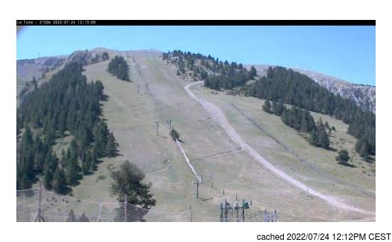 Live webcam per Masella se disponibile