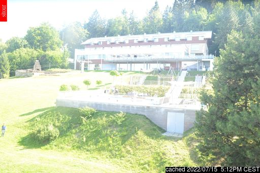 Live Snow webcam for Monínec