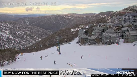 Live Snow webcam for Mount Hotham