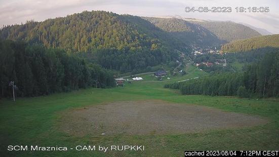 Live webcam para Mraznica - Hnilčík se disponível