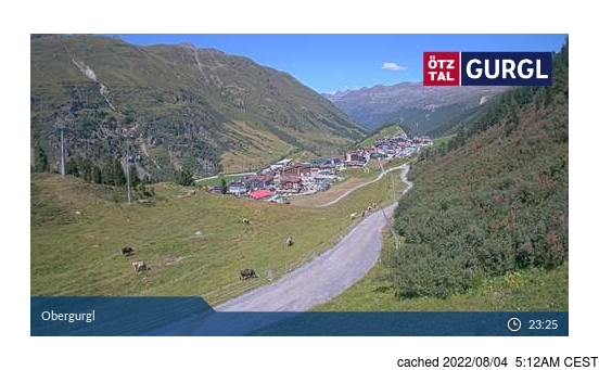 Live webcam per Obergurgl se disponibile