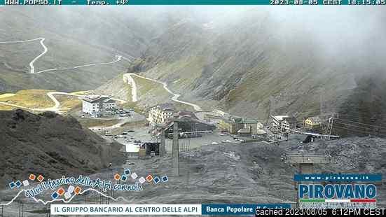 Živá webkamera pro středisko Passo Stelvio