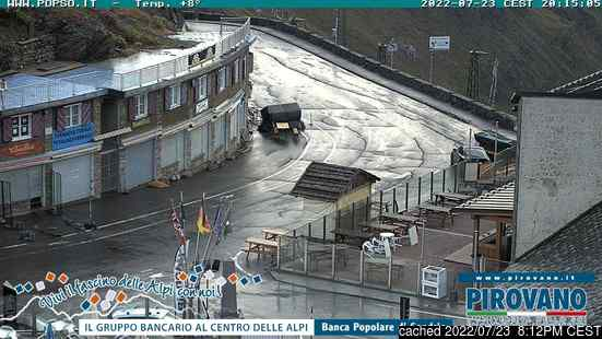 Live webcam per Passo Dello Stelvio Stilfserjoch se disponibile