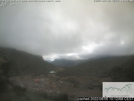 Live Snow webcam for Picos De Europa