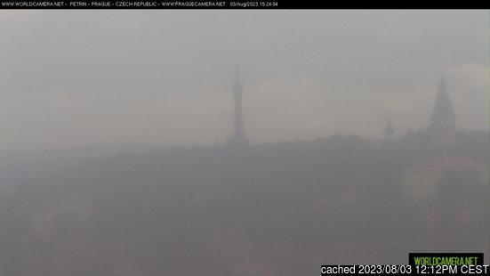 Live webcam para Praha - Petřín se disponível