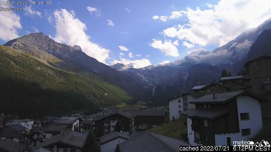 Webcam Live pour Saas Fee
