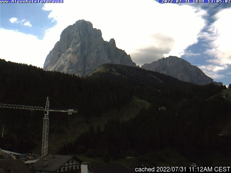 Live webcam per Santa Cristina se disponibile