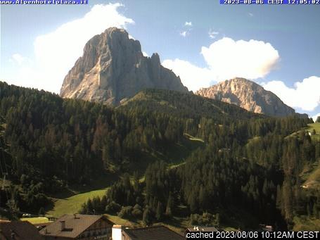 Live webcam para Santa Cristina se disponível