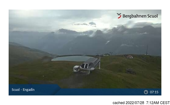 Webcam Live pour Scuol/Engadin