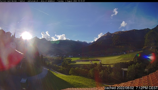 Live Snow webcam for Sedrun Oberalp