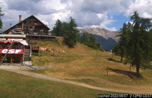 Live Snow webcam for Serre Chevalier