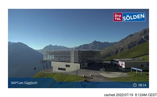 Webcam en vivo para Sölden