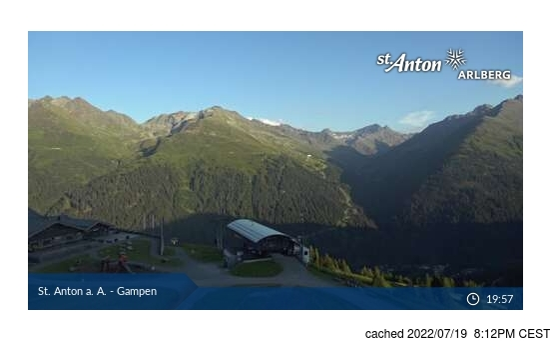 Webcam Live pour St. Anton