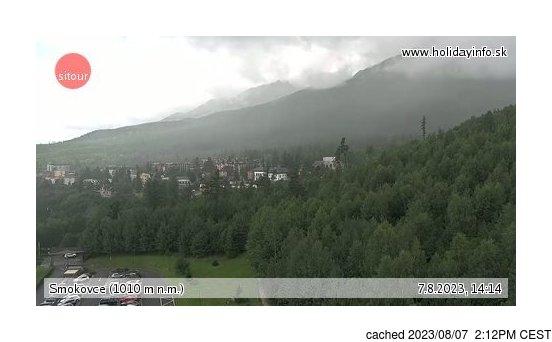 Live Snow webcam for Starý Smokovec