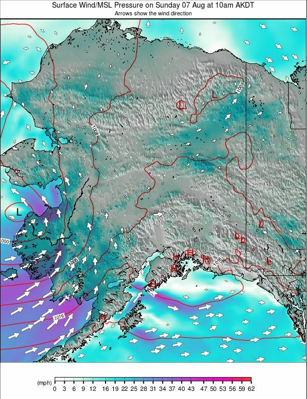 Alaska weather map - click to go back to main thumbnail page