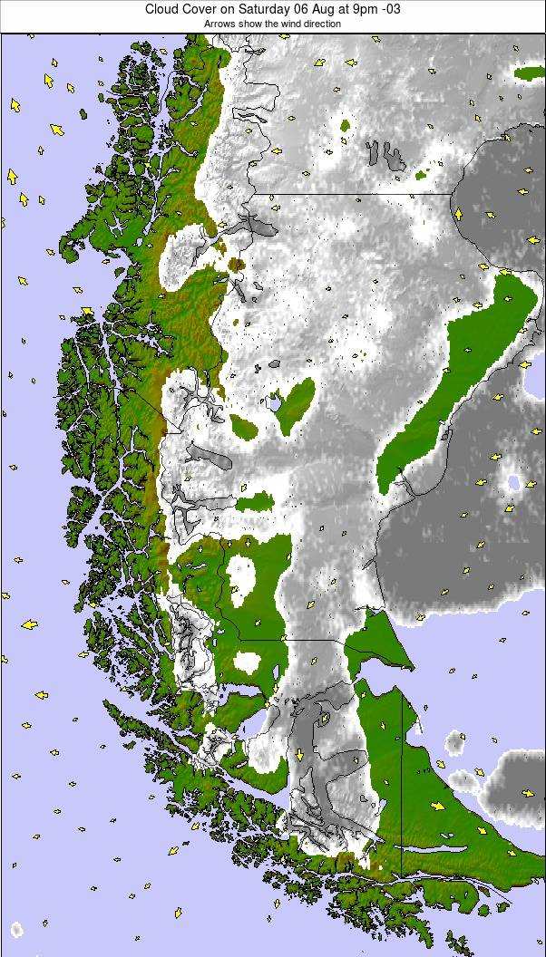 Southern Andes weather map - click to go back to main thumbnail page