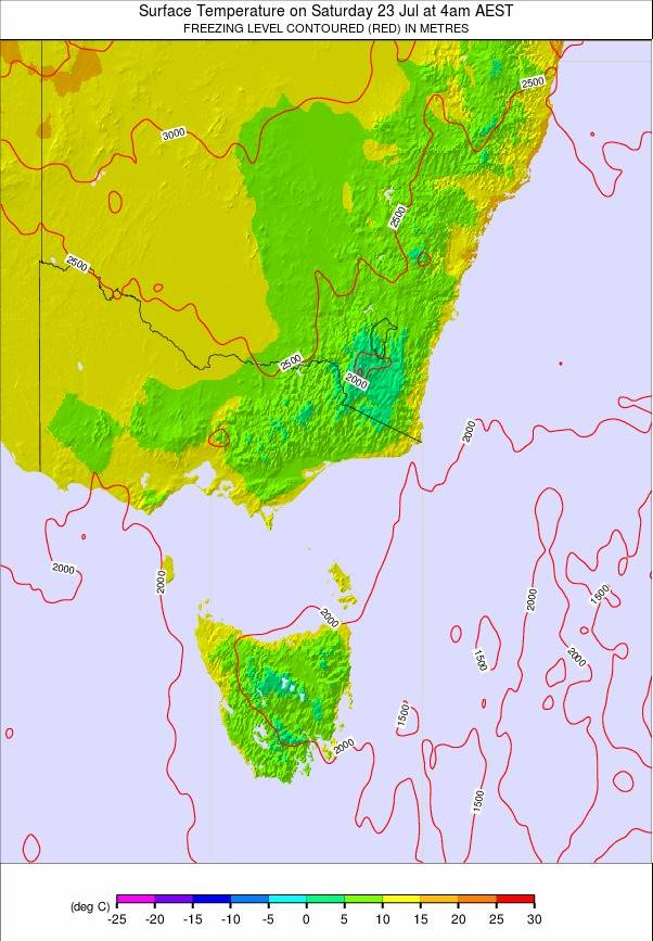 Australia Map Weather.Pronostico De Australia All Se Temperatura