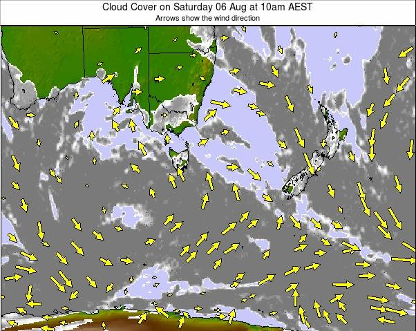 Australasia weather map - click to go back to main thumbnail page