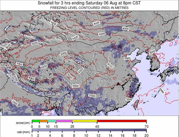 China weather map - click to go back to main thumbnail page