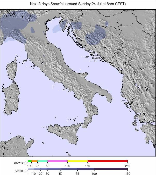 Europe 6 days precipitation #rainfall (Precipitatii Europa 6 zile)