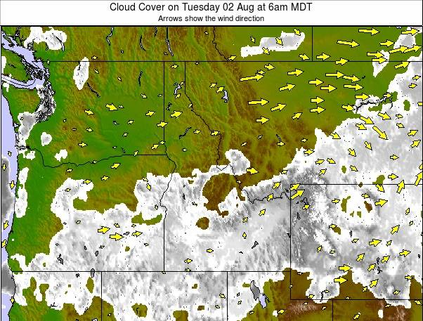 Northwest Usa Cloud Forecast