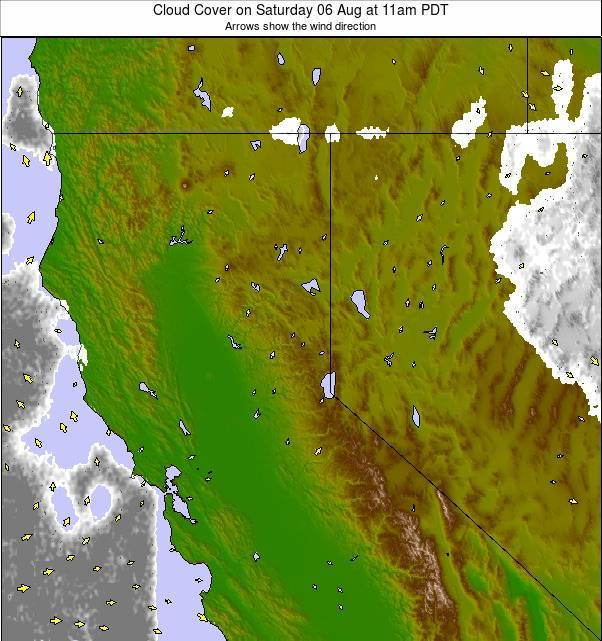 North California weather map - click to go back to main thumbnail page