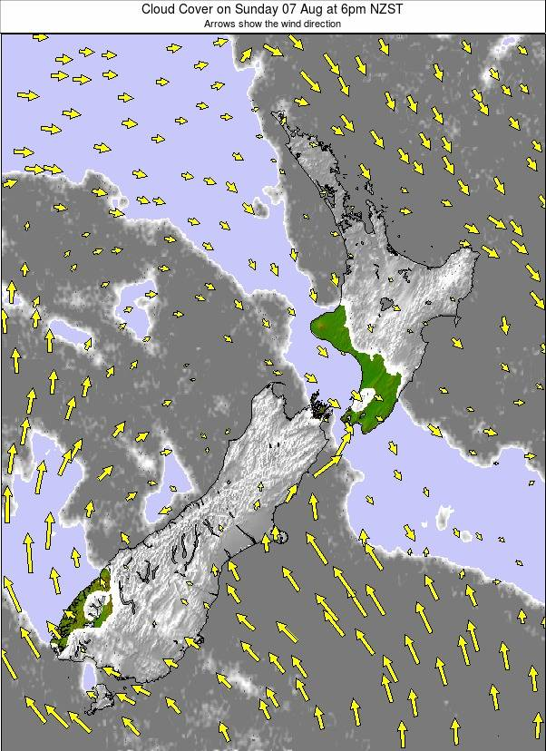 All New Zealand weather map - click to go back to main thumbnail page