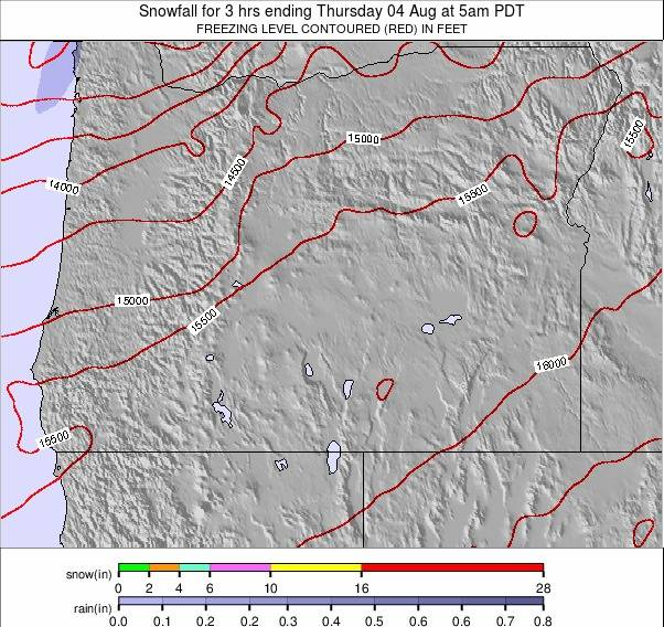 Oregon weather map - click to go back to main thumbnail page