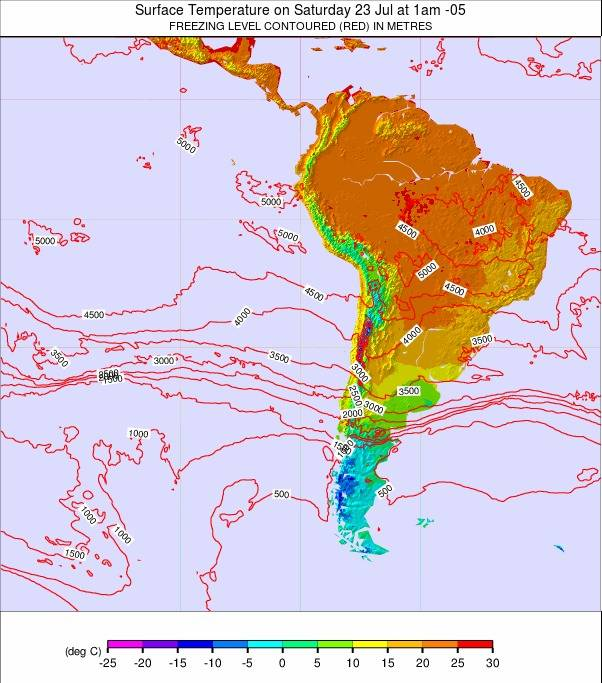 South America weather map - click to go back to main thumbnail page