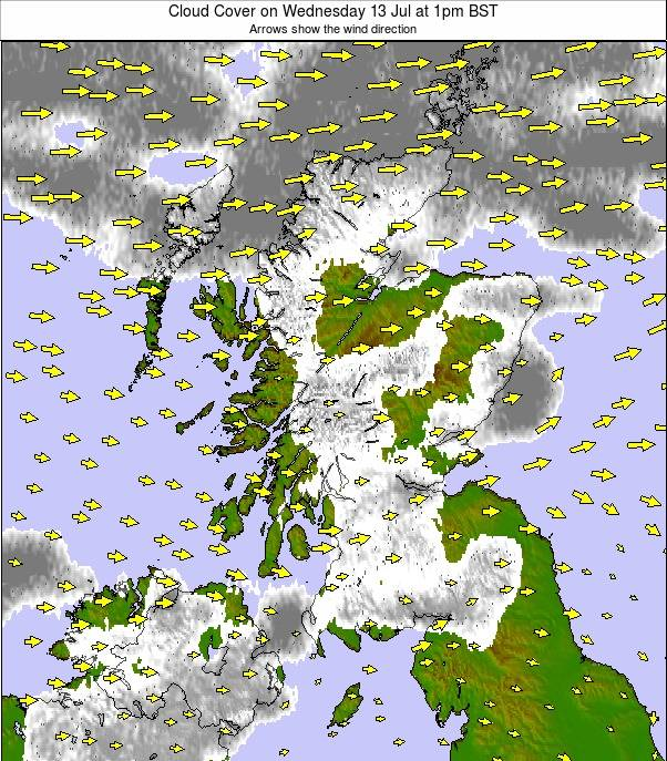 Scotland weather map - click to go back to main thumbnail page