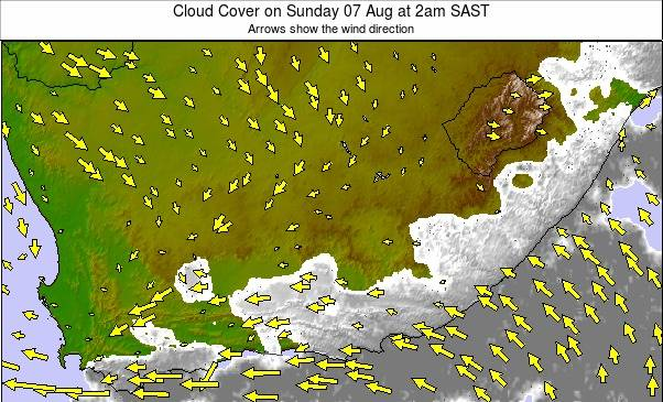 South Africa weather map - click to go back to main thumbnail page