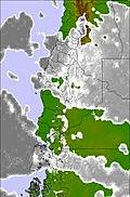 Central Andes cloud forecast for this period