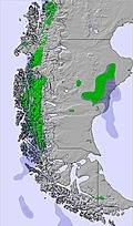 Southern Andes snow forecast for this period