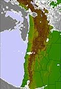 Bolivia cloud forecast for this period