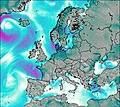 Europe wind forecast for this period