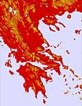 Greece temperature forecast for this period