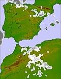 Spain / Portugal cloud forecast for this period