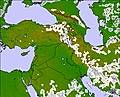 Middle East cloud forecast for this period