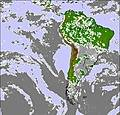 Carte de Nuage de South America