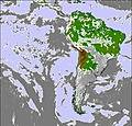 South America Mappa Nube
