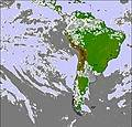South America cloud forecast for this period