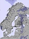 Scandinavia snow forecast for this period