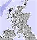 Scotland snow map