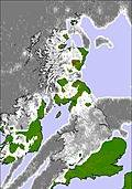 United Kingdom cloud forecast for this period