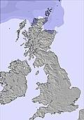 United Kingdom snow forecast for this period